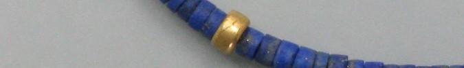 Gold und Lapislazuli
