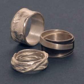 Ring aus reinem Silber