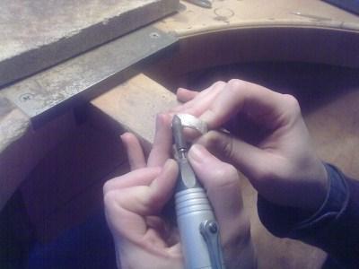 polieren-ring-silber