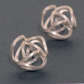 earrings made of allergy-free silver